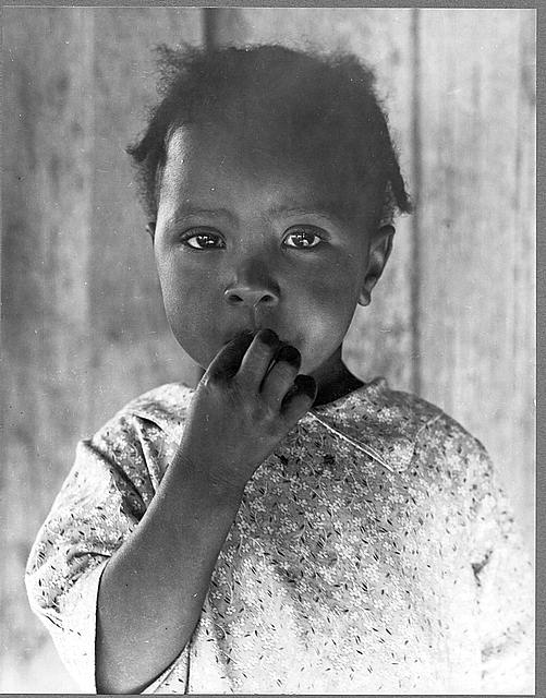 Child of former tenant farmer, now a day laborer. Ellis County, Texas