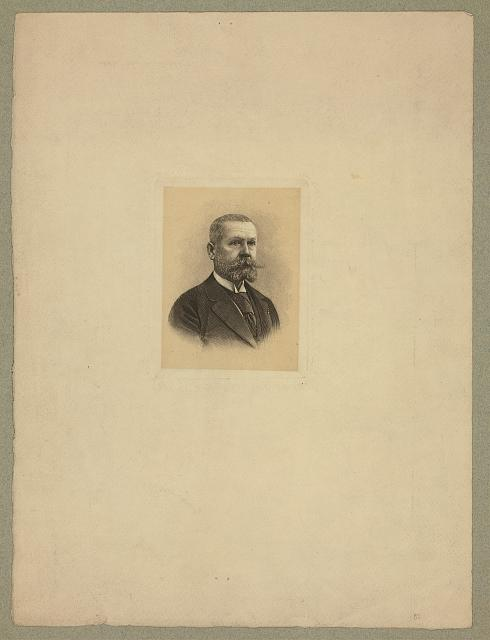 [Gaston Tissandier, French balloonist, head-and-shoulders portrait]