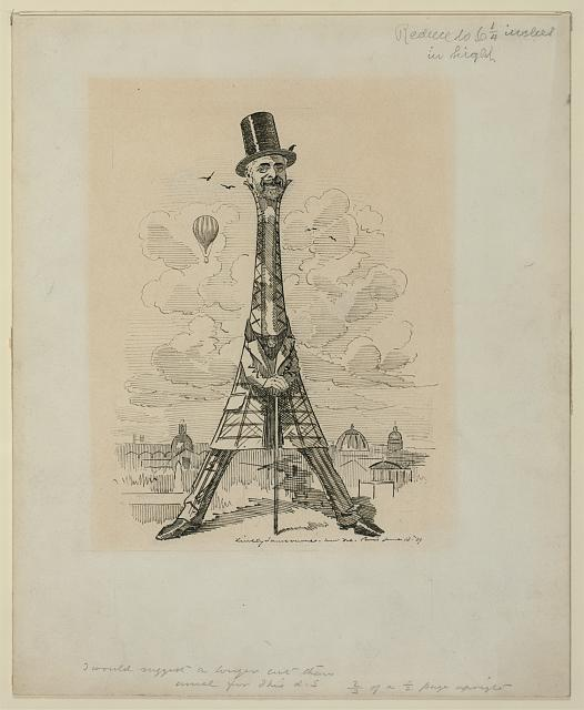 [M. Eiffel, our artist's latest tour de force, June 29, 1889]
