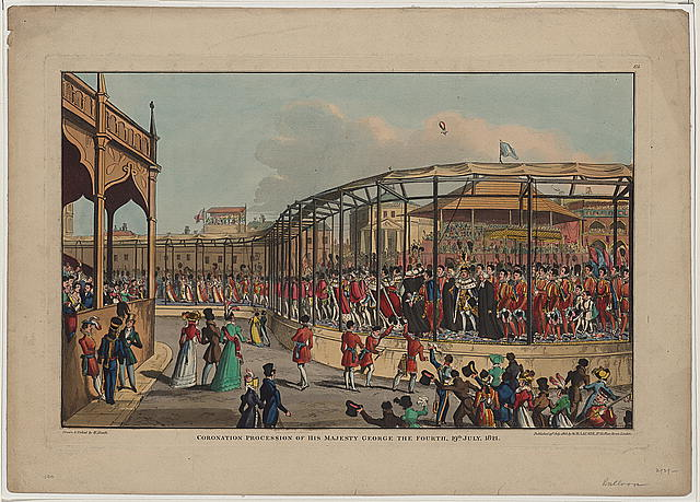 Coronation procession of his majesty George the Fourth, 19th July, 1821