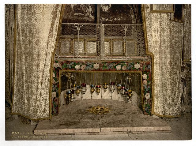 [Grotto of the Nativity, Bethlehem, Holy Land, (i.e., West Bank)]