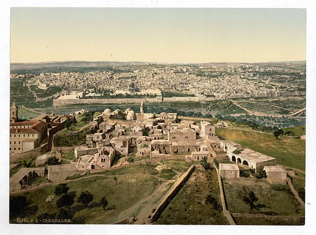 [General view, Jerusalem, Holy Land]