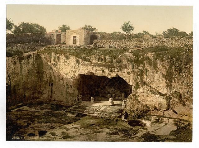 [Tombs of the kings, Jerusalem, Holy Land]