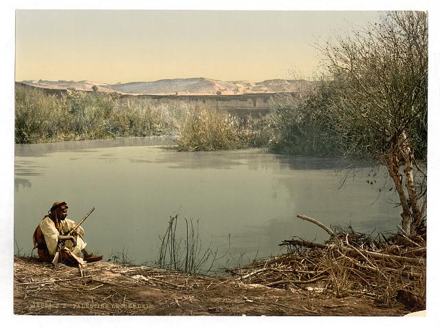 [The River Jordan, Holy Land]