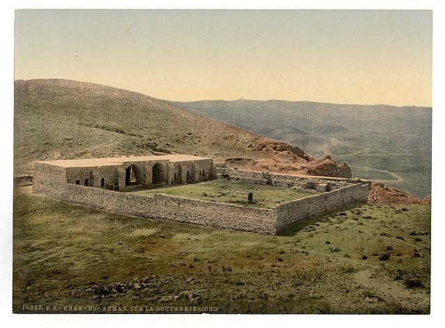 [On the road to Jericho, Khan-el-Ahmar, Holy Land, (i.e., West Bank)]