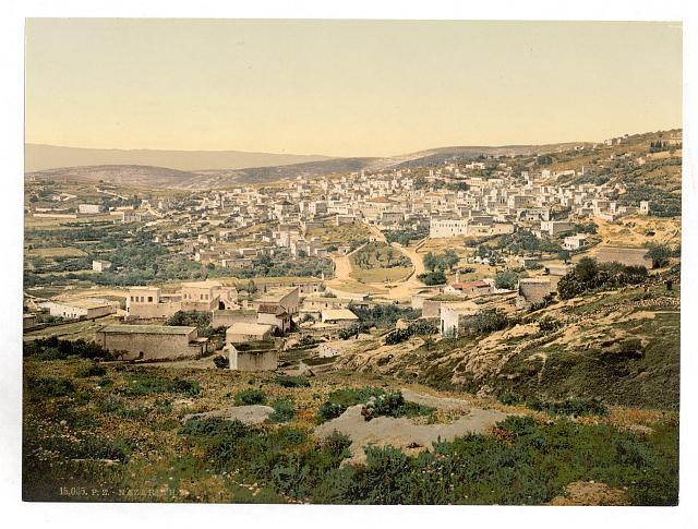 [From the road to Cana, Nazareth, Holy Land, (i.e., Israel)]