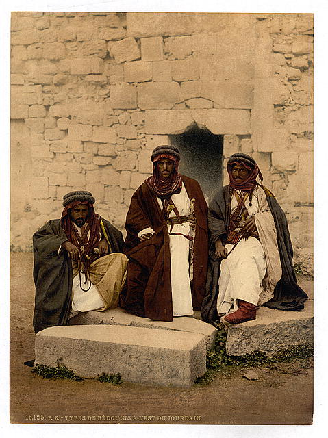 [Bedouins of the Jordan District, Holy Land]