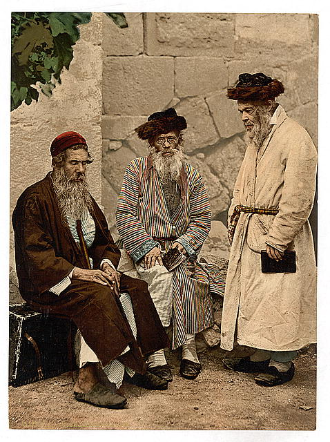 [Types of Jews in Jerusalem, Holy Land]
