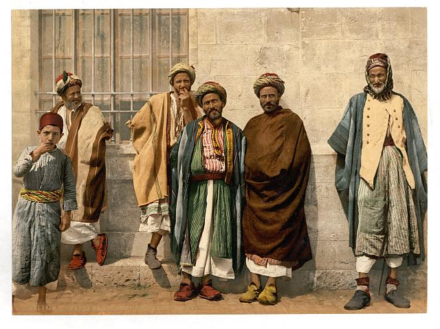 [Peasants of the neighborhood of Bethlehem, Holy Land, (i.e., West Bank)]