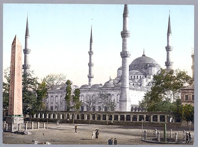 [Mosque of Sultan Ahmet I, Istanbul, Turkey]