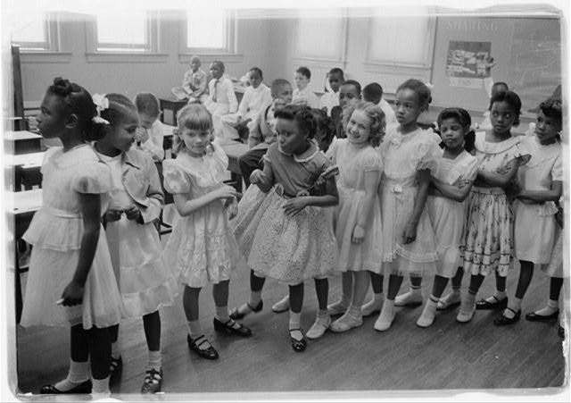 School integration. Barnard School, Washington, D.C.
