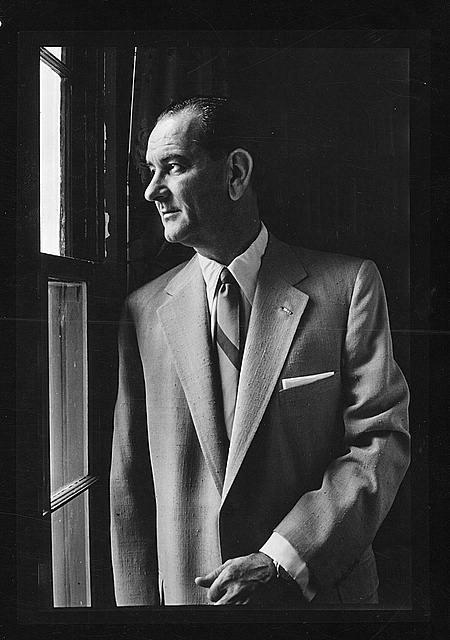 Sen. Lyndon B. Johnson, Senate majority leader