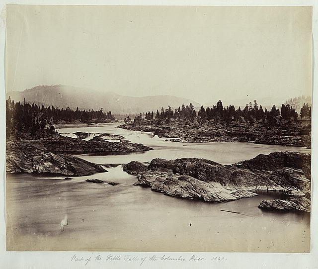 Part of the Kettle Falls of the Columbia River, 1860