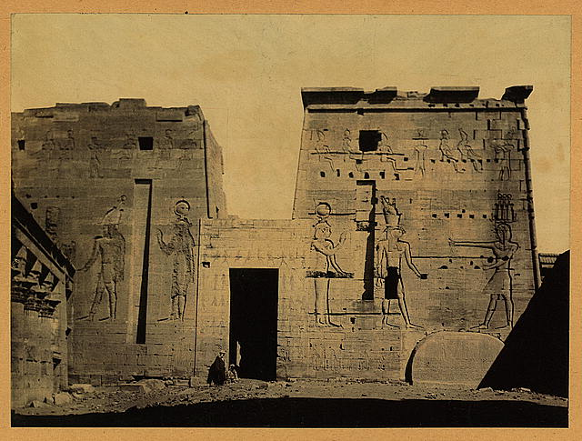 [Temple of Isis on the Island of Philae, Egypt]