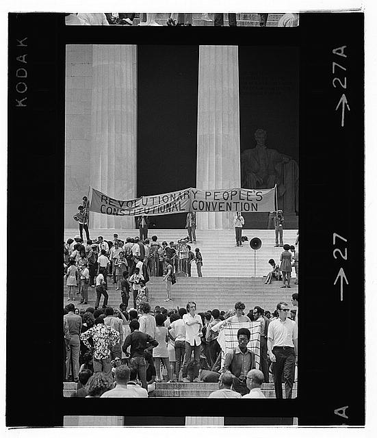 Black Panther Convention, Lincoln Memorial