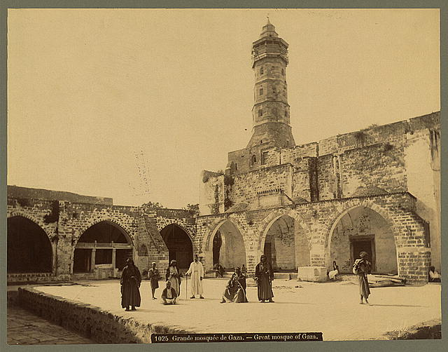Grande mosquée de Gaza Great mosque of Gaza /