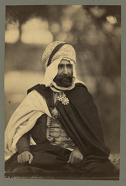 Algeria, Biskra man