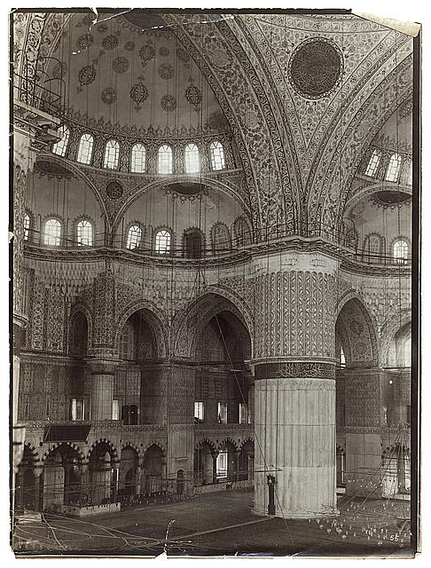 Mosque in Constantinople, interior