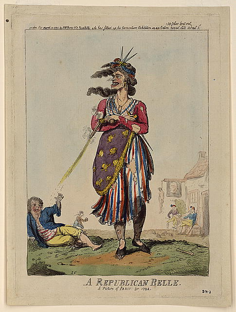 A republican belle - a picture of Paris for 1794