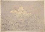 The Capitol from the railway station, Washington, U.S., July 29, 1846 (1846)