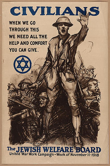 Civilians, when we go through this we need all the help and comfort you can give - The Jewish Welfare Board