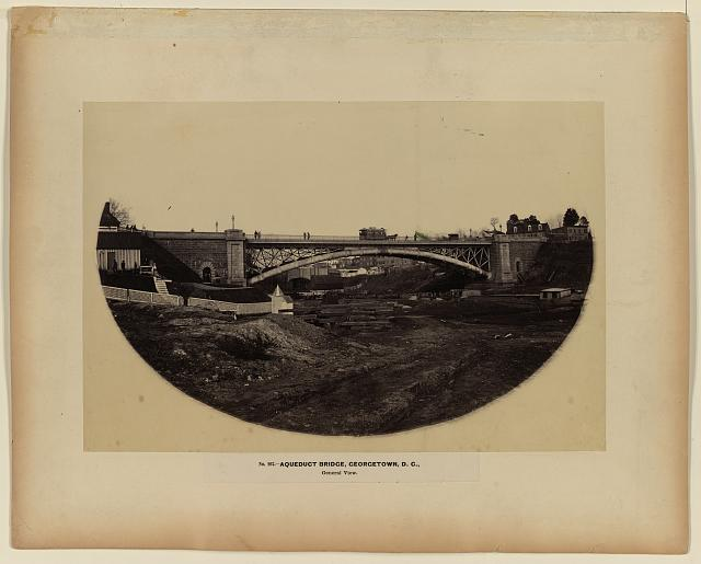 Aqueduct Bridge, Georgetown, D.C., general view