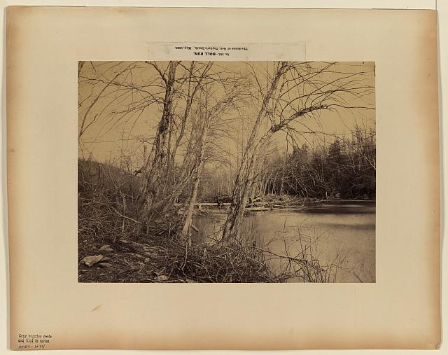 Bull Run, the scene of Gen. Taylor's death, May, 1863