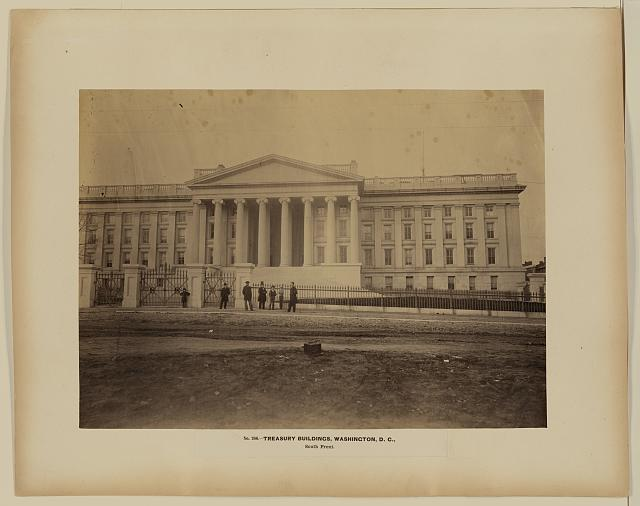 Treasury Buildings, Washington, D.C., south front