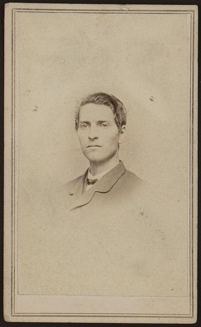 [Anson Rider, Junior, bust portrait, facing slightly left]