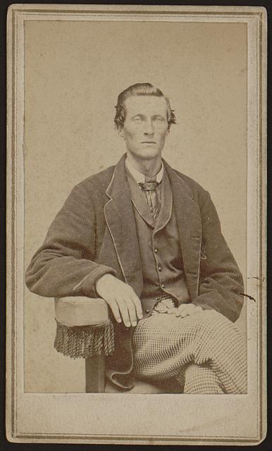 [Bethuel Smith, three-quarter length portrait, sitting, facing front]
