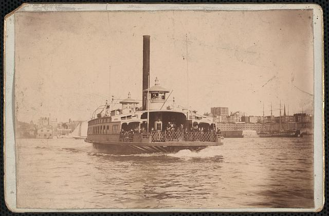 The Fulton ferry boat, [Brooklyn, N.Y.]