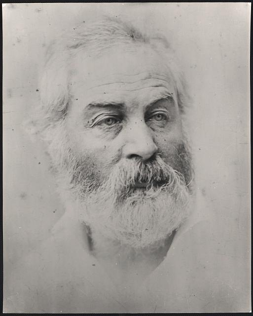 [Walt Whitman, head-and-shoulders portrait]