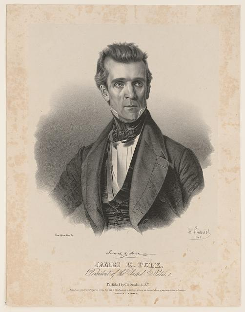 James K. Polk, President of the United States