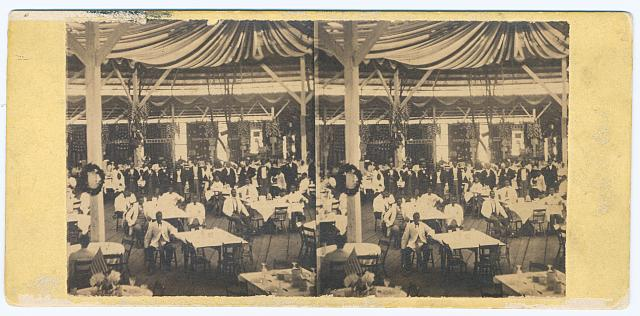 The great sanitary fair, Philadelphia, 1864 - dining saloon