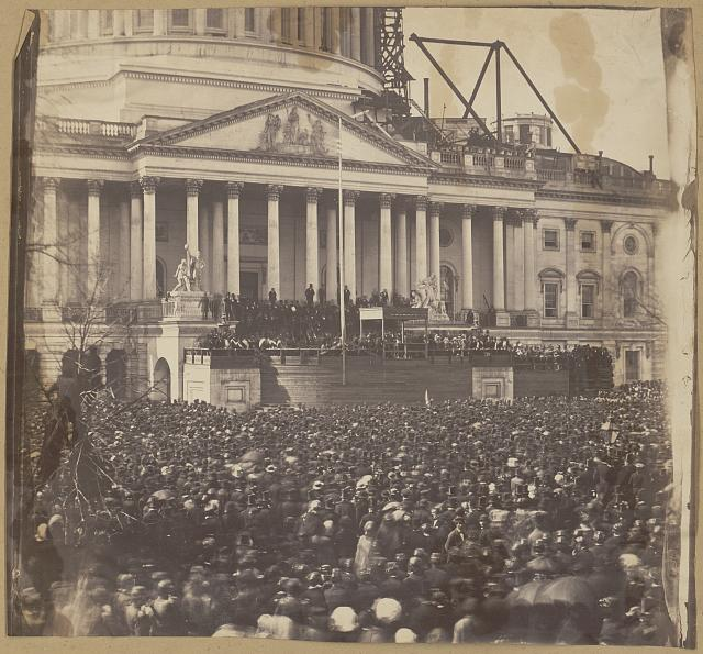 Inauguration of Mr. Lincoln, March 4, 1861