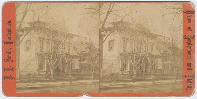Mrs. Sophia Thompson's residence, Main Street