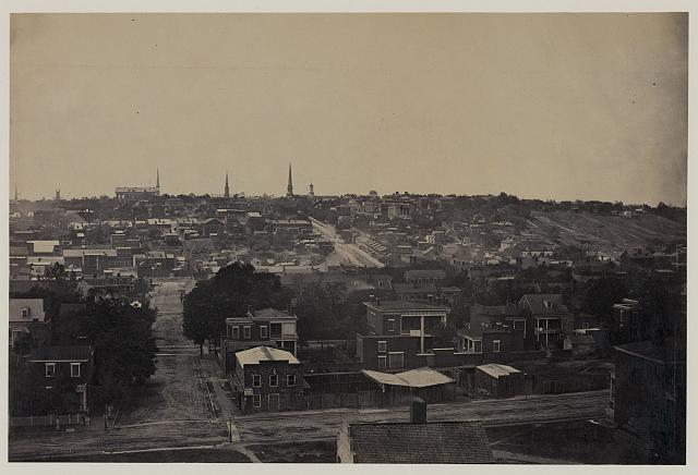 Richmond, from Oregon Hill, April 1865