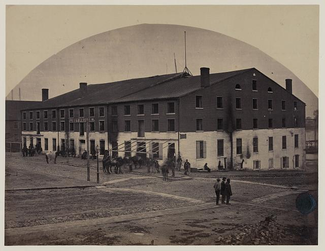 Libby Prison, Richmond, Va., April 1865