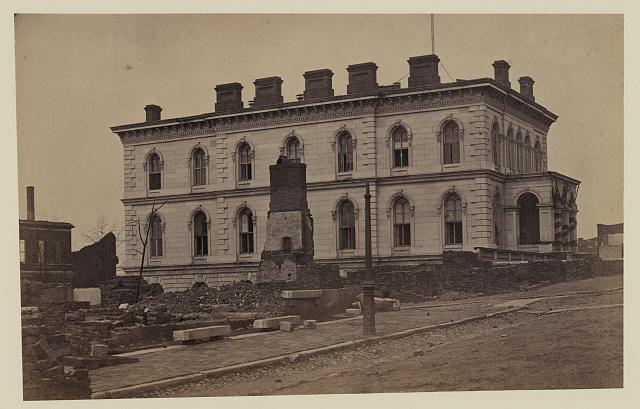 The custom house, Richmond, Va., Ap. 1865