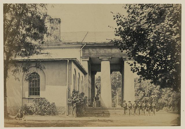 Arlington House, June 29, 1864. Former residence of rebel Gen. Robert E. Lee