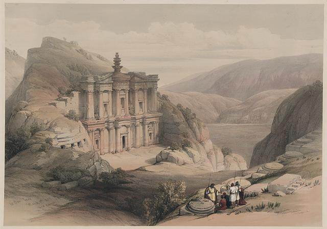 El Deir Petra March 8 1839