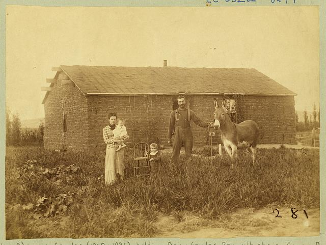 [J.D. Semler, near Woods Park, Custer County, Nebraska]