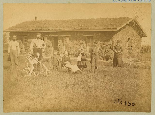 [Morrison residence on Victoria Creek near Merna, Custer County, Nebraska]