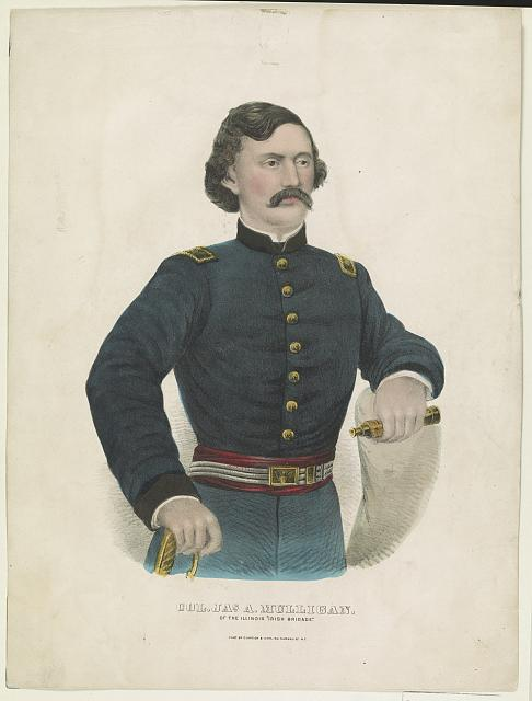 "Col. Jas. A. Mulligan: Of the Illinois ""Irish Brigade"""