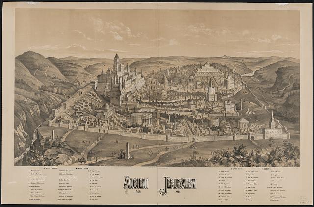 Ancient Jerusalem, A.D. 65