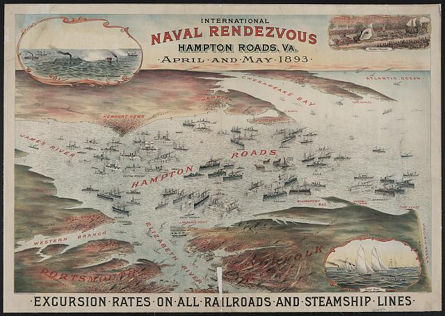 International naval rendezvous, Hampton Roads Va.