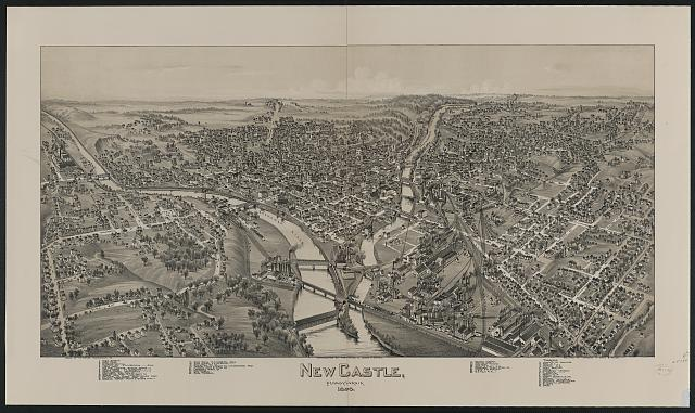 New Castle, Pennsylvania, 1896