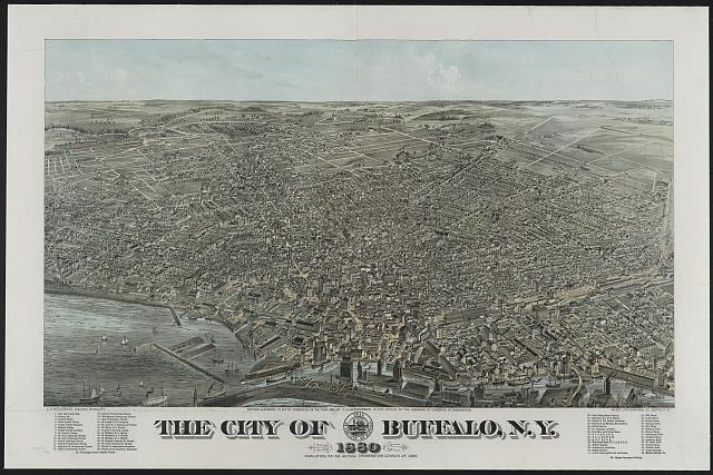The city of Buffalo, N.Y. 1880
