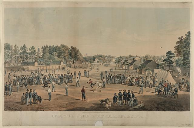 Union prisoners at Salisbury, N.C.
