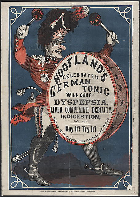 Hoofland's celebrated German tonic water will cure dyspepsia, liver complaint, debility, indigestion, &c., &c.